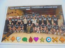 repro wielerfoto 2008  team rock werchter