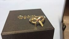 Welsh Clogau 9ct Yellow & Rose Gold Tree Of Life Bow Ring Size L RRP £300