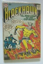 Blackhawk #141 1st Series 3.0 cover detached at one staple (1959)