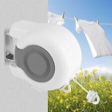 Double Line Retractable Clothesline Outdoor Indoor Clothes Dryer Laundry Hanger