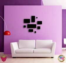 Wall Sticker Abstracto Modern Geometrical Decor for your Living Room z1380
