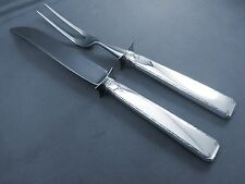 OLD LACE-TOWLE STERLING 2 PIECE CARVING SET