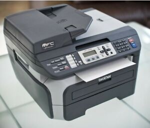 BROTHER MFC-7840W Wireless All-In-One Laser Printer 34k Copier Complete!