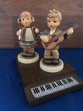 Hummel Pretty Performer 2171 Serenade 2171B of Song 3 Piece Collector Set