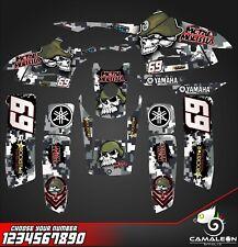 yamaha warrior 350 decals graphics stickers full kit atv