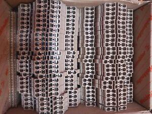 150* Weidmüller Reihenklemmen ZDK 2,5 neu 3Kartons a 50 Stück
