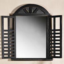 Türdekoration Spiegel Fenster Spiegel Raute Eisenfenster Antik Spiegel