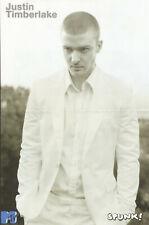 Justin Timberlake Beautiful Glossy Estonian Centerfold Poster In Mint Condition
