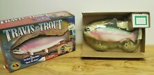 Travis the Singing Trout Motion Activated 1999 Gemmy *READ*