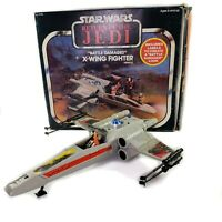 Vtg 1978 Star Wars X WING FIGHTER Battle Damaged ROTJ w/ Original Box Kenner