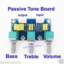Amplifier Preamp Passive Tone Board Bass Treble Volume Control Pre-amplifier