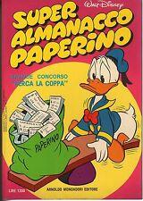 fumetto SUPER ALMANACCO PAPERINO WALT DISNEY ANNO 1978 NUMERO 6