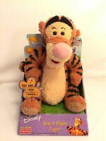 Fisher Price Sing N Giggle Tigger Vintage Disney Winnie The Pooh