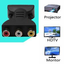 HDMI Male to 3 RCA Female Composite AV Audio Video Adapter Converter for TV PC