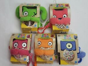 New Lot of 5 , Ugly Dolls To-Go Stuffed Plush Toy - Ugly Dog Clip-on Kids 4+
