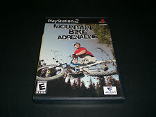 Mountain Bike Adrenaline (PlayStation 2) Complete Great Condition