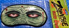 Zombie Sleep Mask, Walking Dead Eyes . Soft Cotton , Blocks Light .