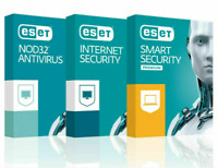 ESET Internet Security/NOD32 Antivirus license 2020(1PC - 1 Year) promotion sale