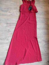 LIU JO schönes langes Abendkleid gedecktes rot Gr. 38? TOP ZC217