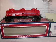 Williams Bachmann 47119 Cook Paint & Varnish 3 Dome Tank Car O 027 MIB New 2014