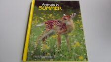 Animals in Summer by Jane R. McCauley, Hardback 1988 Photos, National Geographic