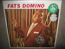 FATS DOMINO The Fabulous Mr. D RARE SEALED New Vinyl LP 1981 LN-10136 re 1958