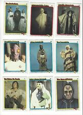 1979 Topps STAR TREK THE MOVIE Non-sports Trading Cards 9 Lot
