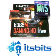 GIGABYTE B365M GAMING MOTHERBOARD + INTEL i5-9400F SIX CORE 2.9Ghz  + 8GB DDR4