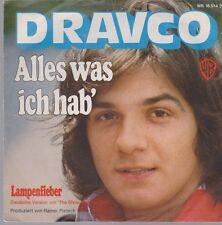 """7"""" Dravco Alles was ich Hab` (Coverversion) / Lampenfieber (Coverversion) 70`s"""