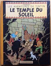 TINTIN Le Temple du Soleil EO 1949 Excellent état