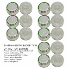 10PCS AG13, G13, SR44, LR44, A76, V13GA, PX76A, 357 Alkaline Button Batteries UK