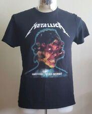 Metallica Worldwired Tour 2017 Chicago Concert Band Tour T Shirt Women's Large L