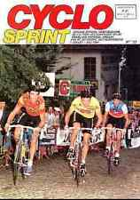 CLAUDY CRIQUIELION claude HITACHI STEPHEN ROCHE SERGEANT Cyclisme Cyclo Sprint