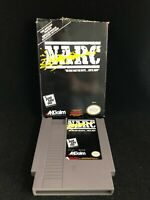 Authentic NES Nintendo Narc, Not CIB Complete In Box, Cleaned Tested Fine