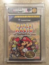 Paper Mario  ( Nintendo , Gamecube ),Brand New ,Factory Sealed , GOLD VGA 85+