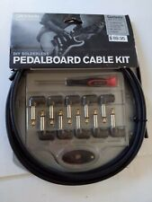 D'Addario DIY Solderless Pedalboard Cable Kit -Fast Shipping.  New in box. Nice.