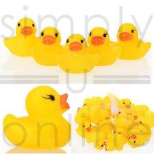 Pato de goma amarillo patos baño juguete chillón agua juego los niños pequeños