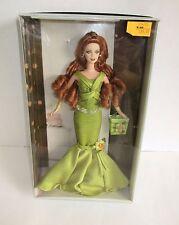 2004 Barbie Birthday Wishes Green Dress Silver Label ~ MIB ~