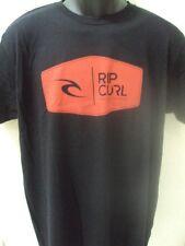 NEW RIP CURL SURF PRIMARIES BLACK PREMIUM TEE T SHIRT LARGE #20-30