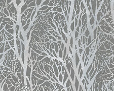 Vliestapete Bäume AS Creation 300943 / AS Creation 30094-3 Taupe / EUR 2,10/qm