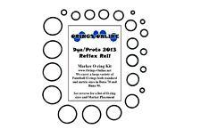 Dye / Proto 2013 Reflex Rail Paintball Marker O-ring Oring Kit x 2 rebuilds