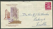 FDC E2 Kerken in Oorlogstijd 1950