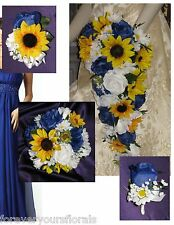 Sunflowers Artificial Wedding Flowers, Petals & Garlands | eBay