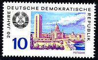 1497 postfrisch DDR Briefmarke Stamp East Germany GDR Year Jahrgang 1969