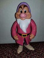 "Disney Snow White & the Seven Dwarves Bashful & Grumpy 6"" Posable Vinyl Figure"