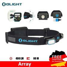 Olight Array LED Stirnlampe akkubetrieben 400lm USB Magnetischer 80m Leuchtweite