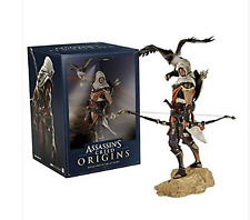 Hot Assassin's Creed Origins Bayek Aya Statue  Collectable Toys Model in box