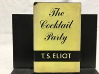 The Cocktail Party - T. S. Eliot - 1950 - 1st Edition - 2nd Printing - HB/DJ