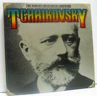 TCHAIKOVSKY - THE WORLD'S BEST LOVED COMPOSER 9X LP BOX SET EX/VG+ GTCH-8A Vinyl