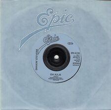 """SHAKIN' STEVENS - Oh Julie - 1981 7"""" Vinyl 45"""